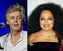 Paul McCartney en Diana Ross