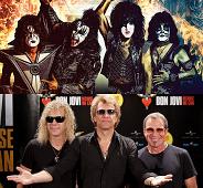 Bon Jovi en Kiss