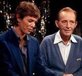 foto - Vinyl-Lp : David Bowie , Bing Crosby