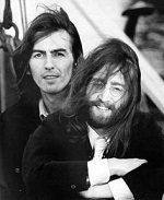 George Harrison John Lennon
