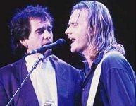 Sting en Gabriel
