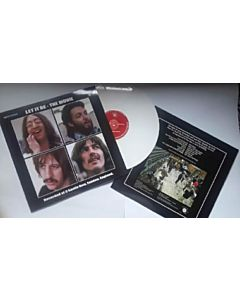 Beatles - Let it be the movie (gekleurd/coloured Vinyl)