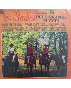 Beatles - Dans Leurs 14 Plus Grands Succes (gekleurd/coloured vinyl)